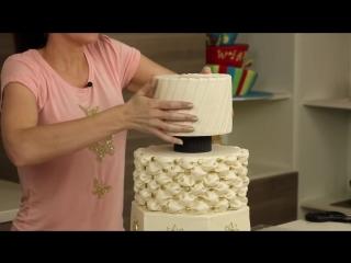 Glitz Glamour Wedding Cake - Part 2(Decorations) - CAKE STYLE