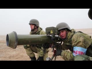 Российские горные стрелки использовали китайские ПТРК PF-98 для уничтожения техники условных «боевиков» на учении ШОС в Китае