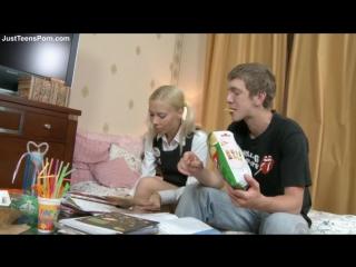 Русские студенты анально учат английский язык