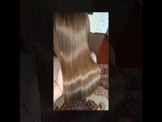 BOTOX SOS HAIR БОТОКС ВОЛОС МАСТЕР ИРИНА БАДИКОВА МИНСК 2017