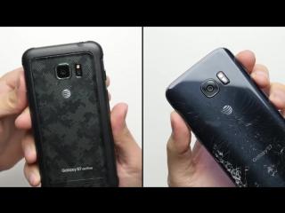 Galaxy S7 Active vs. Galaxy S7 Drop Test