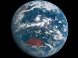 24 часа на Земле с геостационарной орбиты