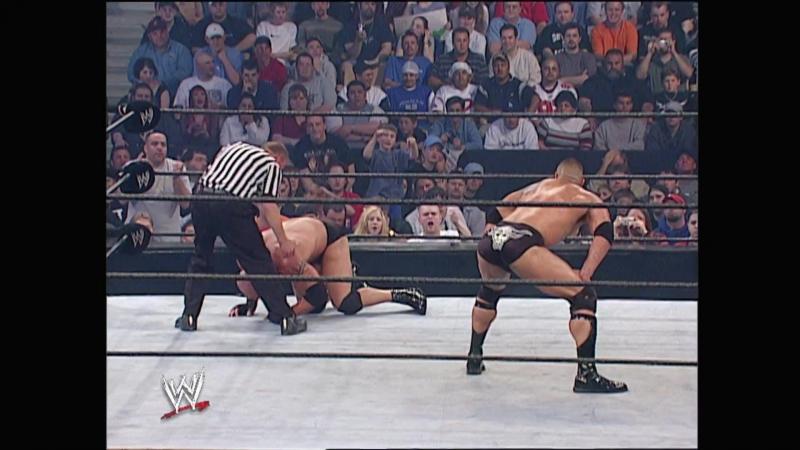 The Rock vs Goldberg Wwe Backlash 2003