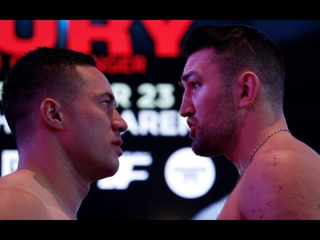Joseph Parker vs Hughie Fury hd wbo title full fight