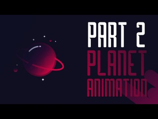 ANIMATED PLANET IN AFTER EFFECTS Part 02 | After Effects Tutorial 2017