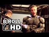 JUSTICE LEAGUE Bloopers Gag Reel B-Roll Footage (2017) DC Superhero Movie HD