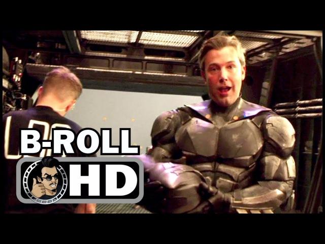«Лига справедливости» (The Justice League) - Bloopers Gag Reel B-Roll Footage