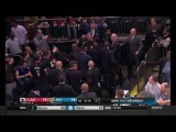 Charles Oakley still a fighter after retirement! - Fights With a Fan in Knicks Game (2017)