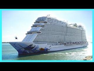 BIGGEST Norwegian Ships - NCL Norwegian Getaway Breakaway Epic Norwegian Escape Cruise
