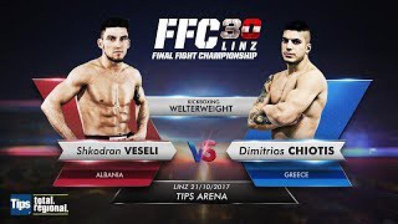 FFC 30: Shkodran Veseli vs. Dimitrios Chiotis
