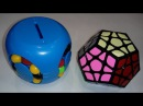 Unboxing №22 CB 4D Pillar Style Magic Tower Piggy Bank ShengShou Pearl Megaminx