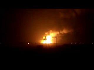 Балаклея - взрывы на украинском военном складе -