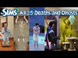 The Sims 3 All 25 Deaths and Ghosts (Base Game + Expansion Packs)
