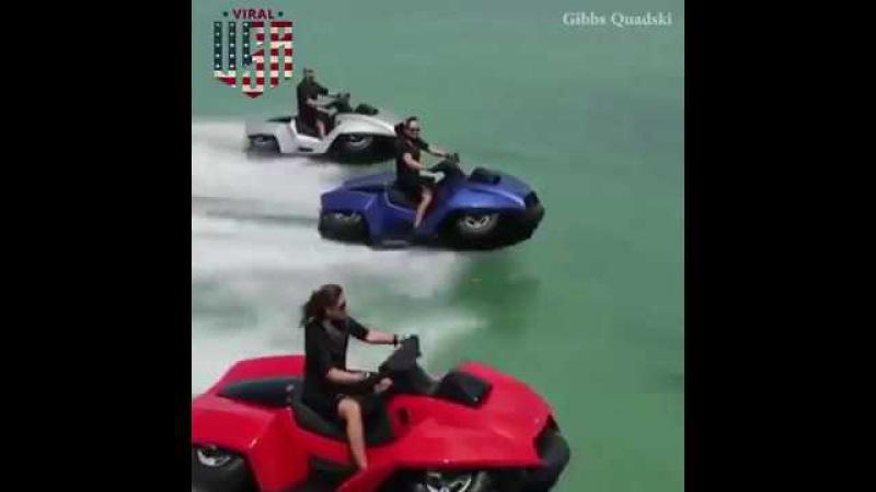 Quadski 4 Wheeler Amphibious ATV