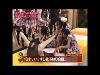 【めちゃイケ】加藤浩次 VS 藤田奈那【AKB48】