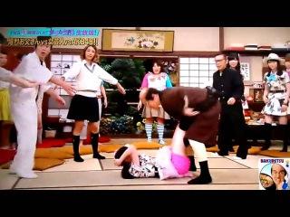 AKB48 渡辺麻友(まゆゆ)が加藤浩次にジャイアントスイング&顔面キック