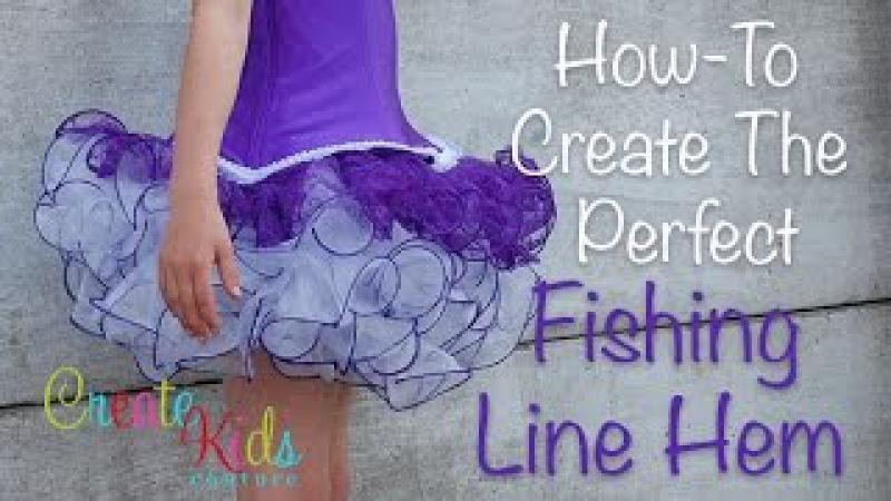 Fishing Line Hem Tutorial by CKC Patterns