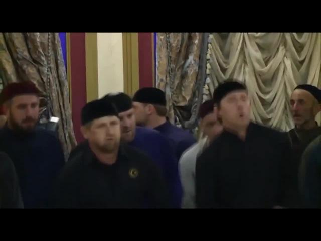 Chechen dance party