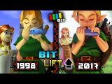 Legend of Zelda Ocarina of Time (1998) vs. (2017) Graphics  Bit Lift TetraBitGaming