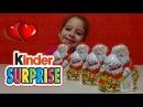 КИНДЕР СЮРПРИЗ Новогодние яйца распаковка игрушек Киндер Сюрприз CHRISTMAS KINDER SURPRISE