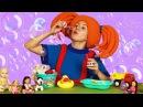 Развивающее видео для детей - Поиграйка с Царевной - СТИРКА Песенка из мультика ...