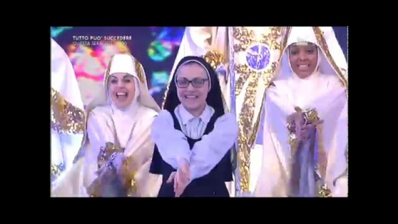 Suor Cristina e il cast di Sister Act Musical su Rai1 - 24 gennaio 2016