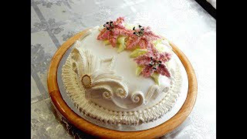 УКРАШЕНИЕ ТОРТОВ Торт БОГАТАЯ НЕВЕСТА от SWEET BEAUTY СЛАДКАЯ КРАСОТА CAKE DECORATION