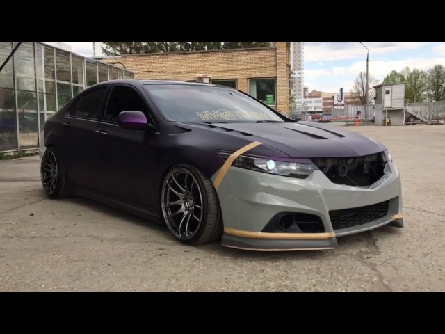 Front Aero Kit for Modulo bumper Accord/TSX CU2/CW2
