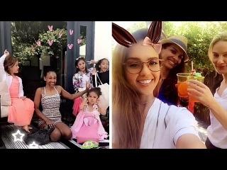 Jessica Alba   Snapchat   April 16, 2017