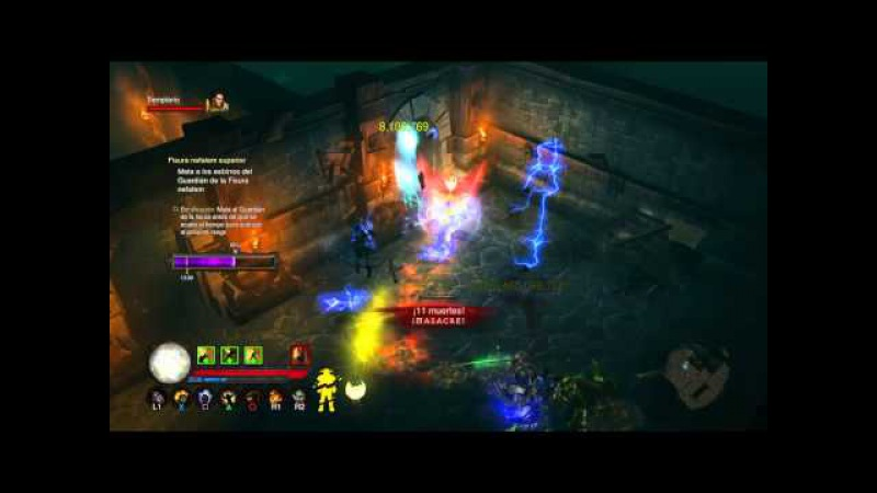 Diablo III: Reaper of Souls – Ultimate Evil Edition (Español) Guerrero Divino 2000 paragon level leg