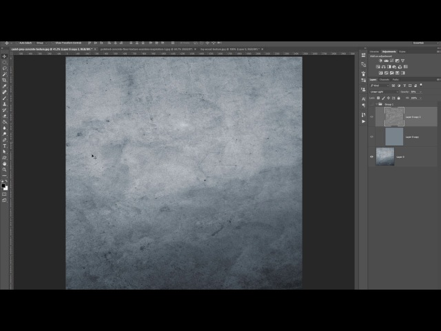 Photoshop tutorial: how to make texture seamless/tileable - light balance technique