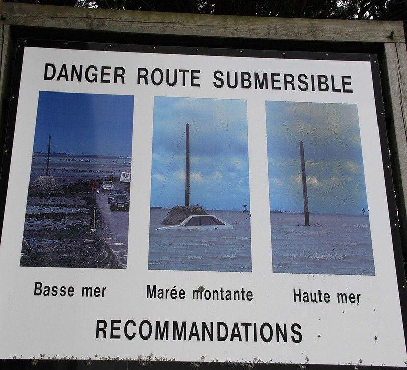 Nas2ebPKUps - Passage du Gois - самая длинная подводная автомобильная дорога