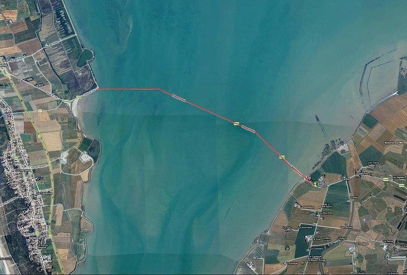 cqtsCeFadPg - Passage du Gois - самая длинная подводная автомобильная дорога