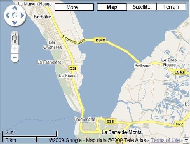 8LmDpO YL5U - Passage du Gois - самая длинная подводная автомобильная дорога