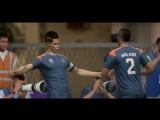 FIFA18 Гамшик забивает красивый гол