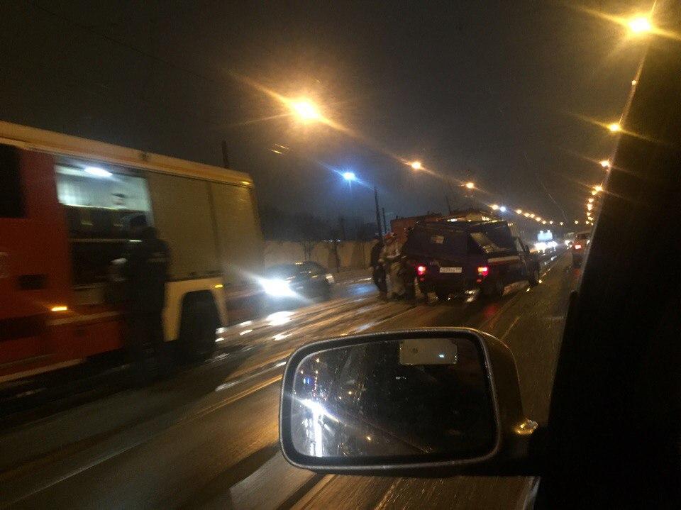 Автомобиль «Почты России» попал в аварию