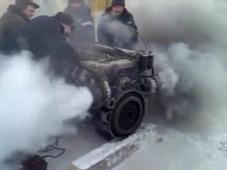 Мотор и мороз!