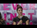 Jacqueline Fernandez Supports The FAAT Campaign Along With The Body Shop