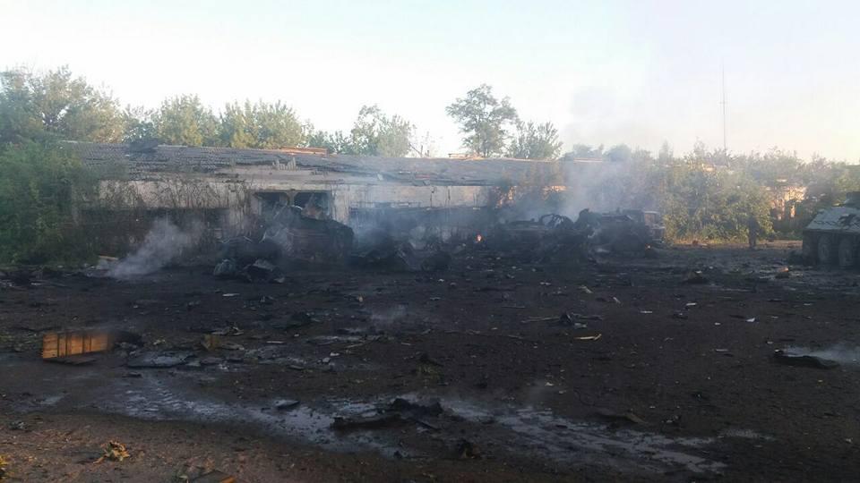 За прошедшие сутки были ранены пятеро украинских воинов, - штаб АТО - Цензор.НЕТ 7393