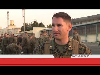 Agile Spirit 2017-ში მონაწილე ამერიკელი სამხედრო მოსამსახურეები საქართველოში ჩამოვიდნენ