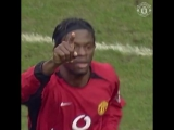 @LouisSaha08 opened the scoring on his #MUFC debut, 13 years ago today!