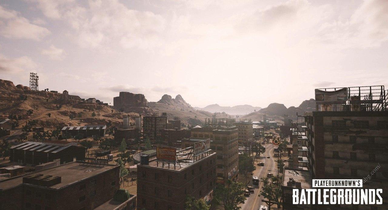 Новые скриншоты пустынной карты в PUBG