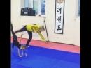 Гимнастка преодолела свой страх и на училась делать колесо на одной 🤸♀️