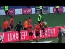 Як футболісти Шахтаря дострокове чемпіонство на полі святкували Шахтар Зоря