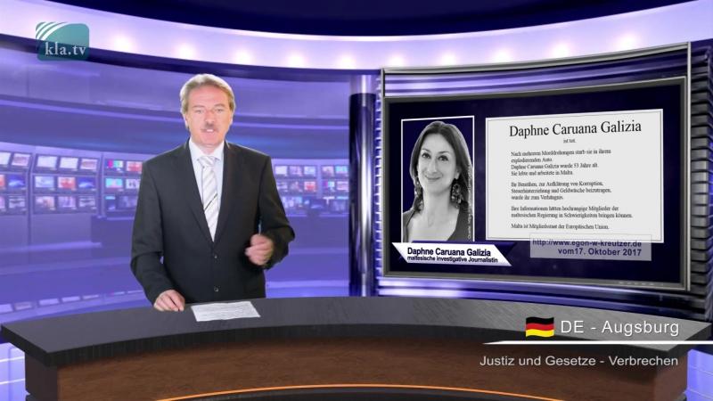 """Ermordete Journalistin """"Überall sind Gauner"""""""