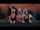 Russian teenage girls ticklish worship