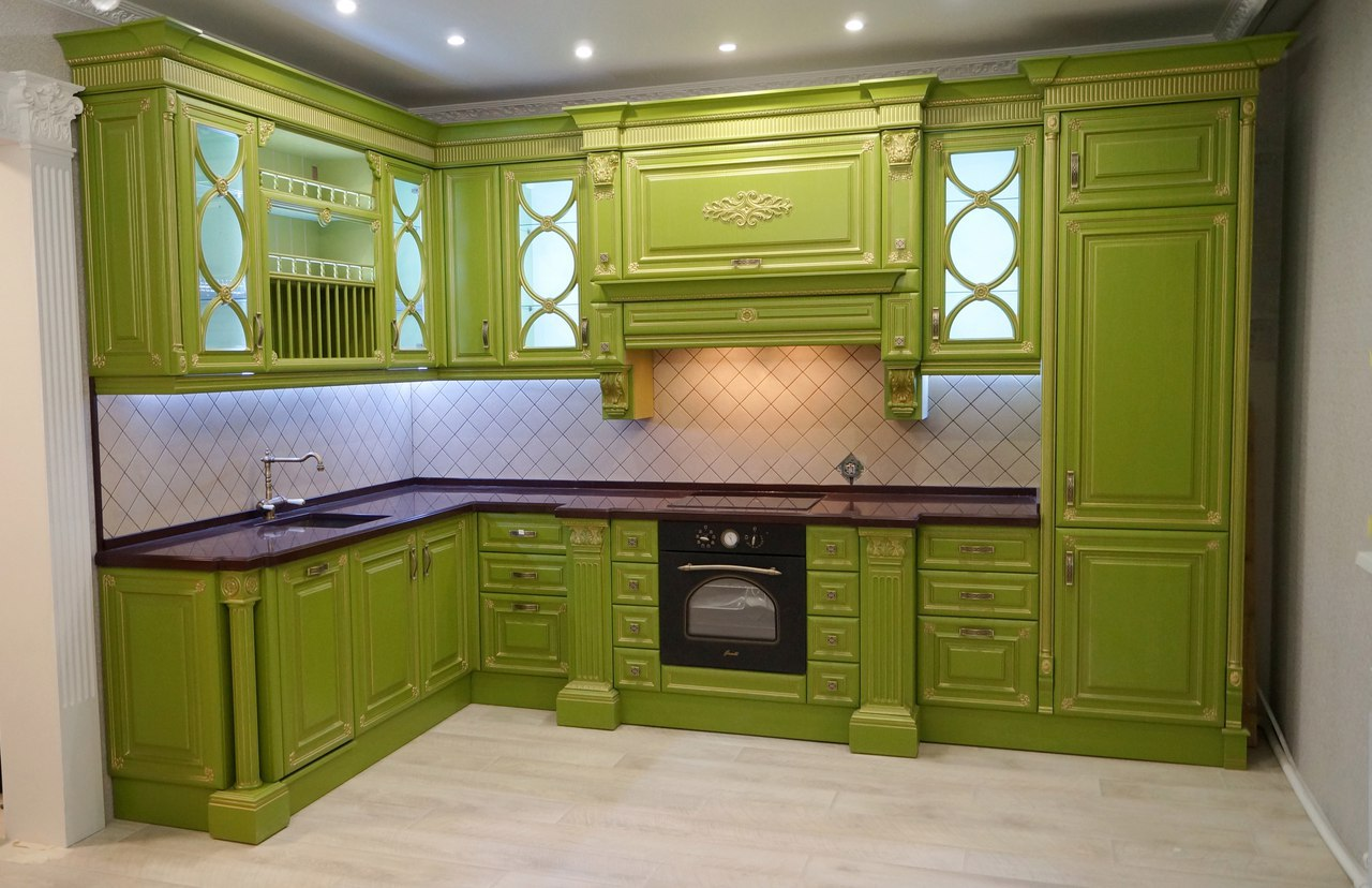 Кухня от Сергея Новикова из гп. Междуречинского ХМАО