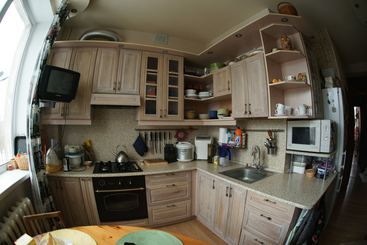 Кухня от Владимира Жукова из Нижнего Новгорода