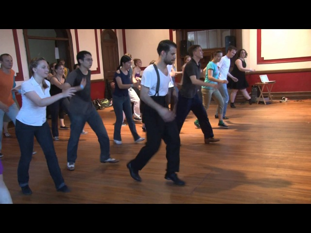 Stompology IX 2014 Advanced Fast Charleston with Juan Villafane