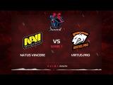 Virtus.pro G2A vs Natus Vincere, Первая карта, Квалификация на Dota Summit 8